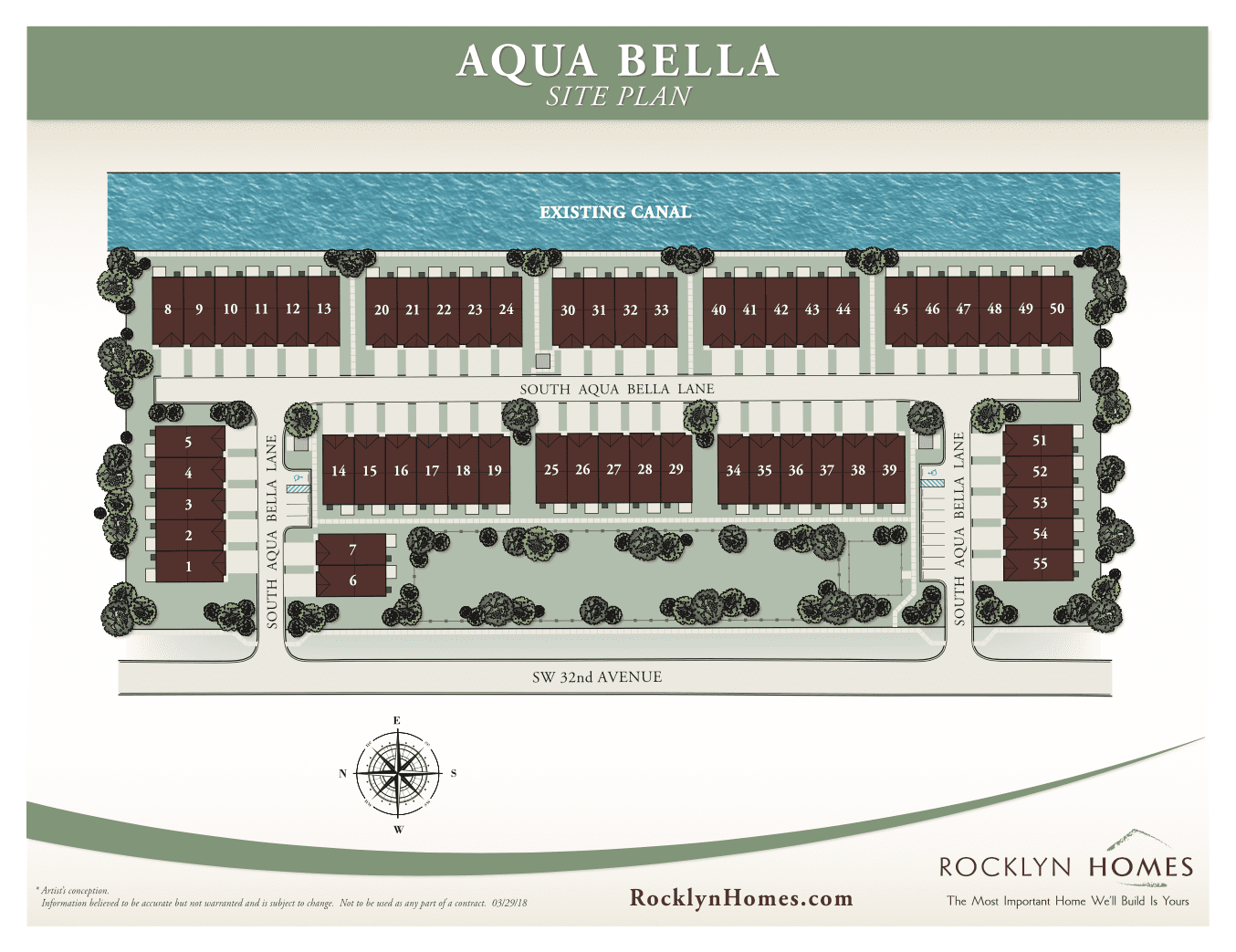 AquaBella Site Plan